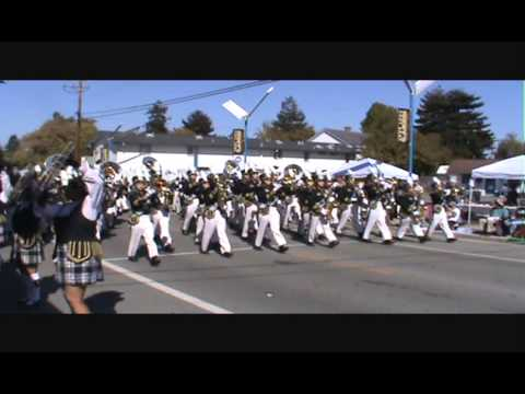 Buhach Colony High School Thunder Band @ Santa Cruz Band Review 2013
