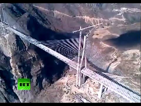El nuevo puente mexicano Baluarte Bicentenario, Récord Guinness al más alto del mundo