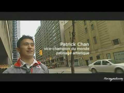 ☆ 20091107 Patrick Chan : était ce le H1N1 ? (Tellement Sport , French)