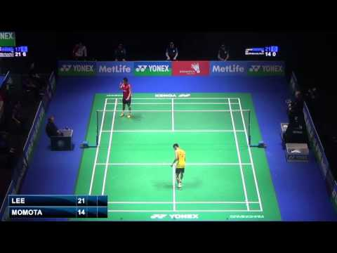 Qf - Ms - Lee Chong Wei Vs Momota Kento - 2014 All England Badminton Open video