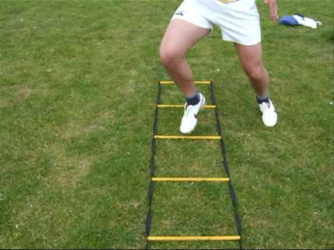 Speed Agility Quickness A Few Easy Saq Ladder Excersises