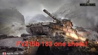 World of tanks xbox one - Deathstar (FV215b 183) some nice shots