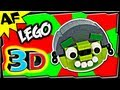 3D HELMET PIG - Lego Angry Birds Animated Review with Building Instructions