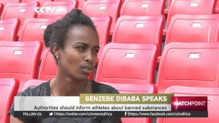 Ethiopia's Genzebe Dibaba  proud of her achievements in 2014 and 2015