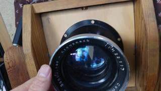 large format lens mounting progress