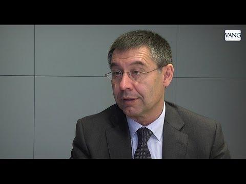 Bartomeu y la consulta del nuevo Camp Nou