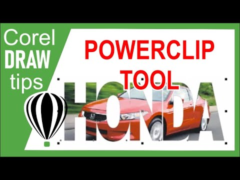 The power of Powerclip in CorelDraw