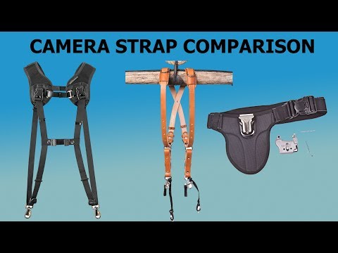 Camera Strap Review and Comparison   Black Rapid vs  Holdfast Moneymaker vs  Spider Holster