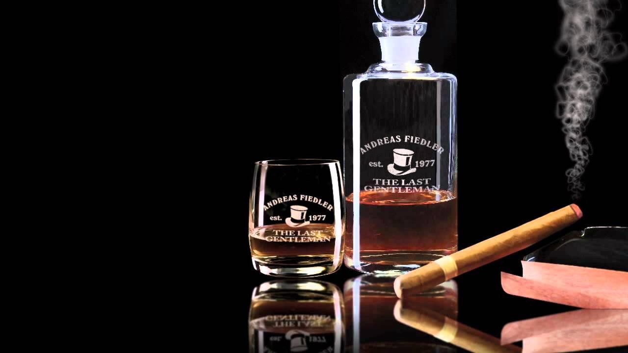 whiskyglas mit gravur gravierte whisky gl ser youtube. Black Bedroom Furniture Sets. Home Design Ideas