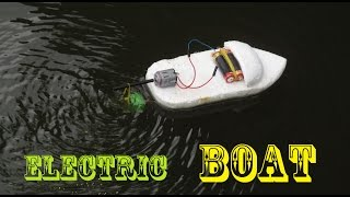 How to make an Electric Boat very easy | Making toy