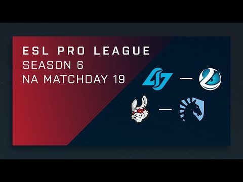 CS:GO: CLG vs. Luminosity | Misfits vs. Liquid - Day 19 - ESL Pro League Season 6 - NA Main