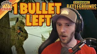 When You Finish with 1 Bullet to Spare ft. WTFMoses - chocoTaco PUBG Gameplay