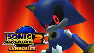 Sonic Adventure 2 Mods: Metal Sonic over Sonic & Shadow (Early beta) feat. Knuckles