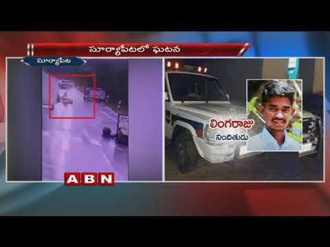 Stolen police vehicle creates sensation in Suryapet