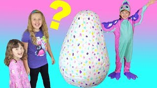 MASSIVE Hatchimal Super Giant Mystery Egg Surprise Hatching !