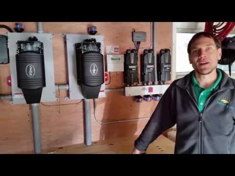 Off grid power center basics