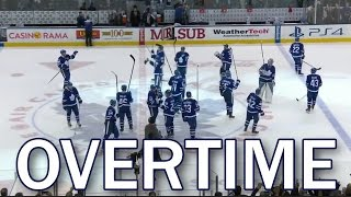 (Full Overtime) Winnipeg Jets vs Toronto Maple Leafs - 2/21/2017