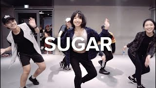 Download Lagu Sugar - Maroon 5 ft. Nicki Minaj (remix) / May J Lee Choreography Gratis STAFABAND