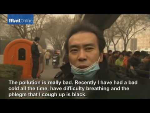 Breathing air in Beijing is equivalent to smoking 40 cigarettes a day