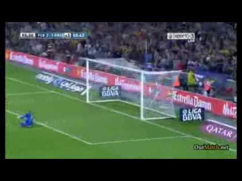 FC Barcelona 2-1 Real Madrid Full Highlights 26/10/13