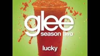 Watch Glee Cast Lucky video