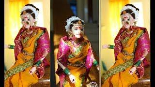 Indian Maharashtrian Bride Barbie Doll making/How to make Maharashtrian doll/कैसे बनाये दुल्हन गुडिय