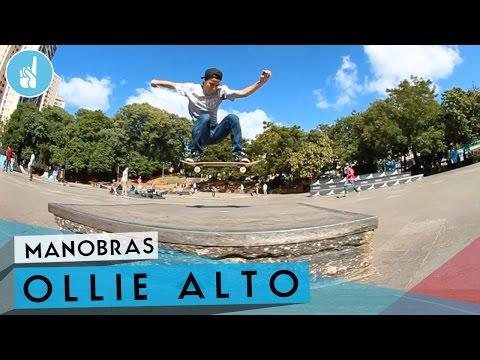 Como mandar Ollie alto pulando obstáculos