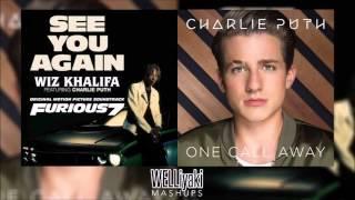See You Call Away Charlie Puth & Wiz Khalifa Mixed Mashup