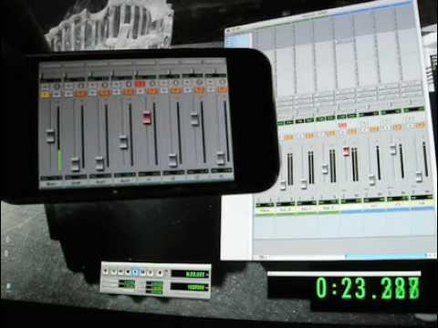 Pro Remote 0.01 - Control ProTools from an iPhone