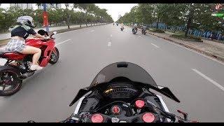 Ducati Super Sport - Khi Rider Nữ Gặp Giao Thông (Girl Rider Meet Police)
