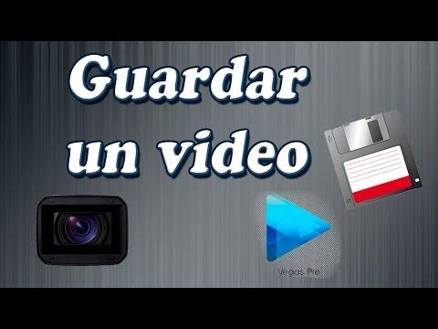 Tutorial Sony Vegas Pro 12: Cómo guardar un video (renderizar)