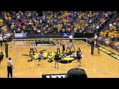 Volleyball vs. Indiana State Highlights