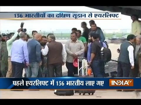Operation Sankat Mochan: 156 Indians Evacuated from War-torn South Sudan