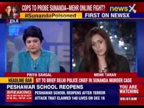 Shashi Tharoor returns to Delhi from Kerala as police probe Sunanda Pushkar Murder Case