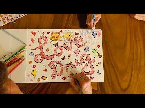 DIE ANTWOORD - LOVE DRUG (Lyric video)
