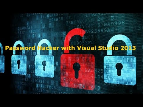 Creare programma che ruba e-mail e password con Visual Studio 2013