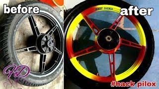 #TRICK PILOX  kuning stabilo & merah cabe