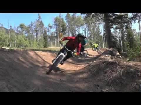 Launching the Jackson Hole Bike Park