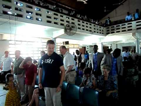 EMI at Pastor's Harry Church (AG North Kaneshie) Accra, Ghana 5