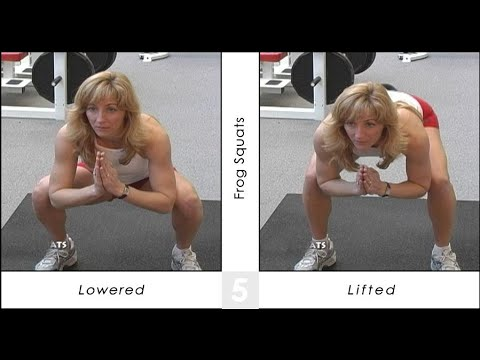 The Best Exercise for LOWER BODY (Thighs and Butt): Frog Squats