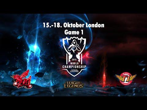 ahq e-Sports Club vs. SK Telecom T1 - Viertelfinale, World Championship 2015 - Game 1