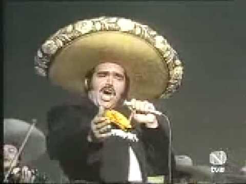 Vicente Fernandez - El Rey (en vivo)