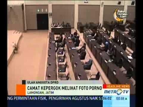 Camat Kepergok Melihat Gambar Porno saat Sidang Paripurna DPRD Lamongan, Jawa Timur