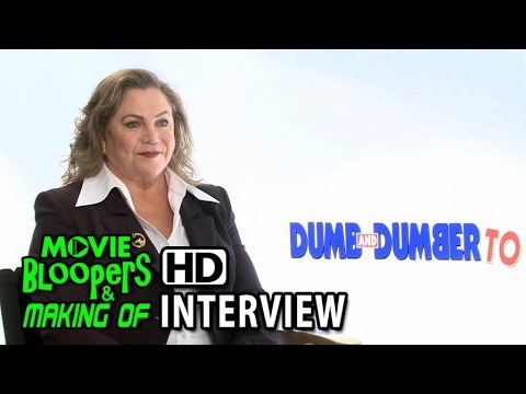 Dumb and Dumber To (2014) Interview - Kathleen Turner (Fraida Felcher)