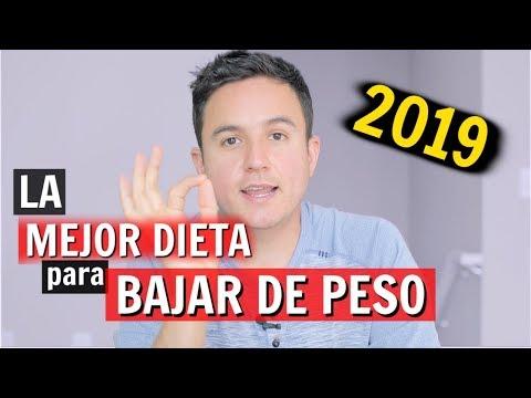 La mejor dieta para bajar de peso 2018