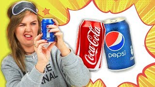 Irish People Blind Taste Coke Versus Pepsi