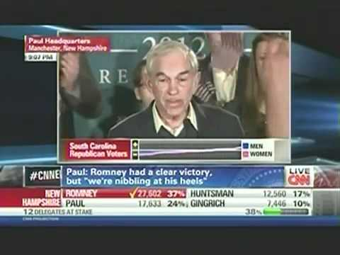 The Speech That Will Change The Course Of American History - Ron Paul In New Hampshire