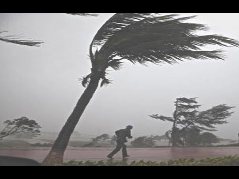 Hurricane Gonzalo Landfall Hits Bermuda, Antigua, British Virgin Islands - Tropical Storm [FOOTAGE]
