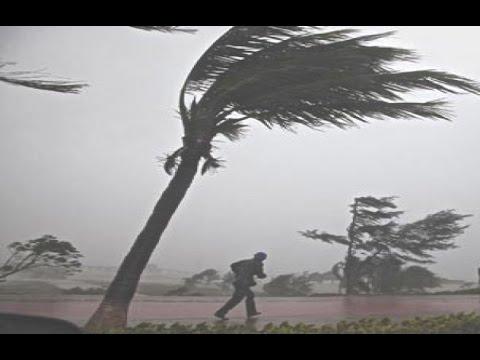 Hurricane Gonzalo Landfall Hits Bermuda Antigua  - Tropical Storm [FOOTAGE]!!!