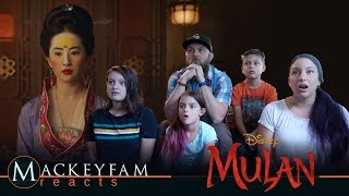 Disney's Mulan - Official Teaser- REACTION and REVIEW!!!